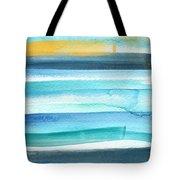 Summer Surf 2- Art By Linda Woods Tote Bag