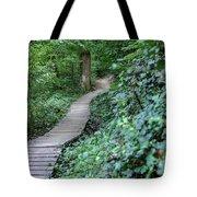 Summer Trail Path Tote Bag