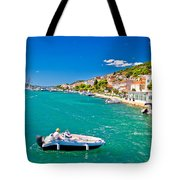 Summer View Of Tisno Coast Tote Bag