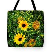 Summer Wildflower Dreams Tote Bag
