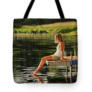 Summers Beauty Tote Bag