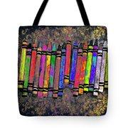 Summer's Crayon Love Tote Bag