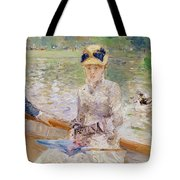 Summers Day Tote Bag by Berthe Morisot