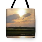 Summers Evening In North Yorkshire Tote Bag