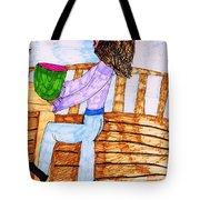 Summers Lunch Tote Bag by Elinor Rakowski