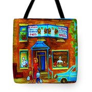 Summers With Mom At Fairmount Tote Bag