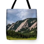Summertime At The Flatirons Tote Bag
