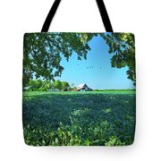 Summertime Blues Tote Bag