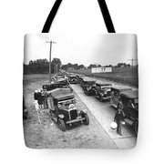 Summertime Country Traffic Jam Tote Bag