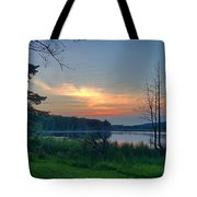 Summertime In Northern Michigan Tote Bag
