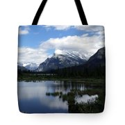 Summertime In Vermillion Lakes Tote Bag