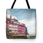 Summertime Town Tote Bag
