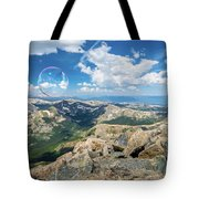 Summit Bubbles - Yale Tote Bag