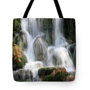 Summit Creek Waterfalls Tote Bag