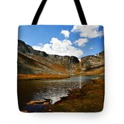Summit Lake Colorado Tote Bag