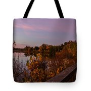 Summit Lake Magic Hour  Tote Bag