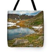 Summit Lake Study 5 Tote Bag