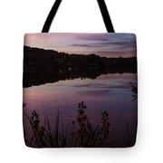 Summit Lake Sunset II  Tote Bag