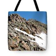 Summiting The Mount Massive Summit Tote Bag