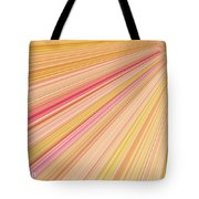 Sun Abstract Tote Bag