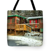Sun After The Storm At Beauty Creek Tote Bag