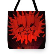 Sun And Fire Tote Bag