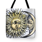 Sun And Moon, 1493 Tote Bag