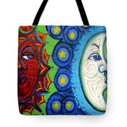 Sun And Moon Tote Bag by Genevieve Esson