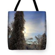 Sun And Snow  Tote Bag
