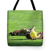 Sun Bathing Tote Bag