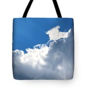 Sun Behind The Clouds 2 Tote Bag
