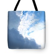 Sun Behind The Clouds 3 Tote Bag