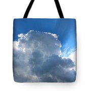 Sun Behind The Clouds 4 Tote Bag