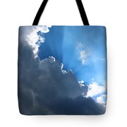 Sun Behind The Clouds 7 Tote Bag