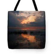Sun Behind The Clouds Tote Bag