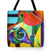 Sun Bird Tote Bag