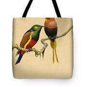 Sun Birds Tote Bag