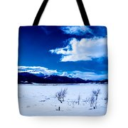 Sun Break On The Lake Tote Bag