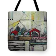 Sun Breaks Through  Tote Bag