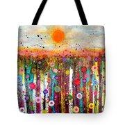 Sun Bursts Tote Bag
