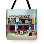 Sun Coffee Tote Bag