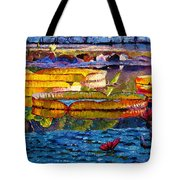 Sun Color And Paint Tote Bag