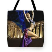 Sun Court Dancer Tote Bag
