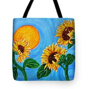 Sun Dance Tote Bag by Sarah Loft