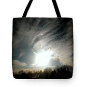 Sun Dog And Sunshine Tote Bag