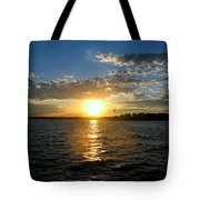 Sun Down Day Tote Bag