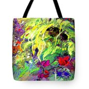 Sun Flower Bouquet Tote Bag