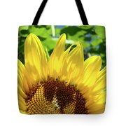 Sun Flower Floral Art Prints Sunflowers Summer Garden Tote Bag