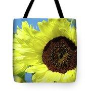 Sun Flower Garden Art Prints Sunflowers Baslee Troutman Tote Bag