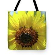 Sun Flower Glow Art Print Summer Sunflowers Baslee Troutman Tote Bag